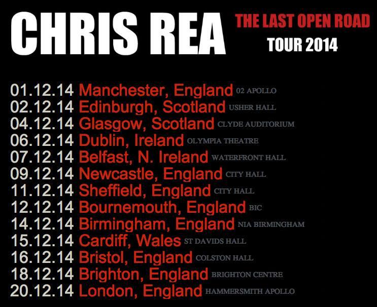 Chris Rea Homepage